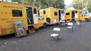 التبرع بالدم في زخرون يعقوب - يوم كيبور