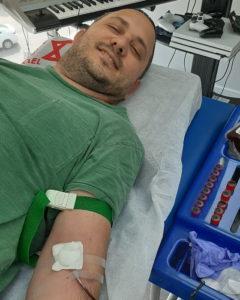 Gilad Gansber - Gespendet in Bnei Brak am 9